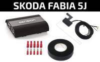 Skoda Fabia 5J DAB+ Nachrüstung