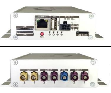 WICAR W-LAN-Router WIFI Hotspot für 2 SIM-Karten fürs Auto  Wohnmobil  Bus uvm.