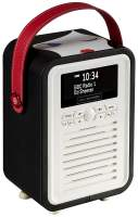 View Quest Retro Mini Radio mit Bluetooth, Doll Face