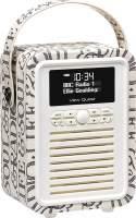 View Quest Retro Mini Radio mit Bluetooth, Black Toast