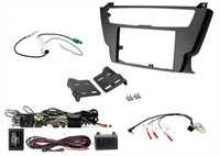 2-DIN Einbaukit BMW 3er/4er (F-Modelle) mit Verstärker