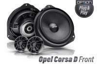 Opel Corsa D Lautsprecher Set Plug & Play