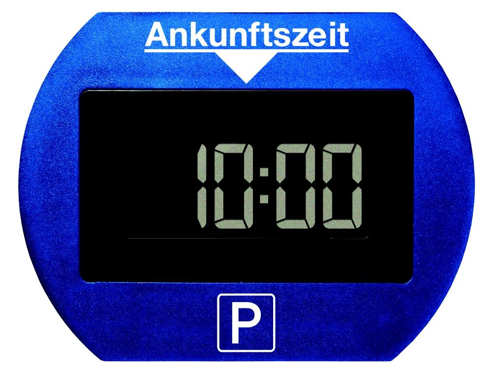 park lite elektronische parkscheibe blau sicherheit f rs auto. Black Bedroom Furniture Sets. Home Design Ideas