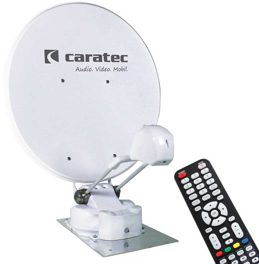 Caratec CASAT850ST Smart-D Sat-Antenne 85cm