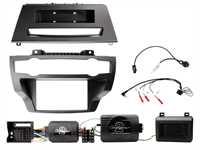 2-DIN Einbaukit BMW X5/X6 (E-Modelle) ohne Verstärker
