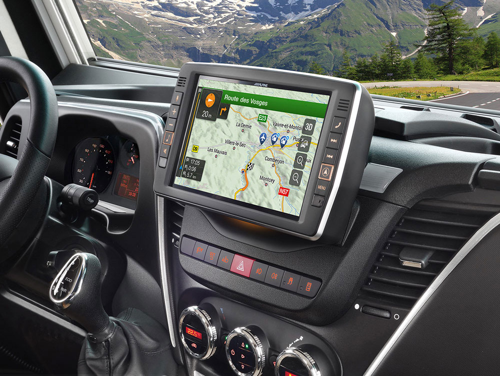 Alpine X902d Id Iveco Daily Autoradio Alpine