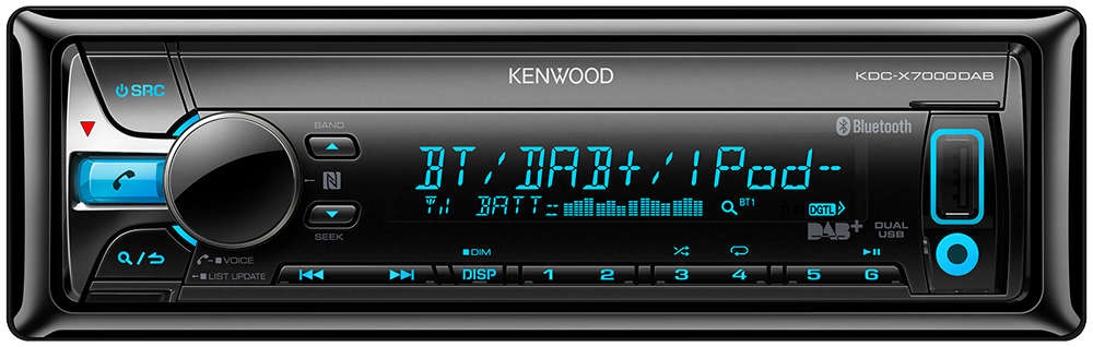 kenwood kdc x7000dab incl dab antenne kenwood. Black Bedroom Furniture Sets. Home Design Ideas