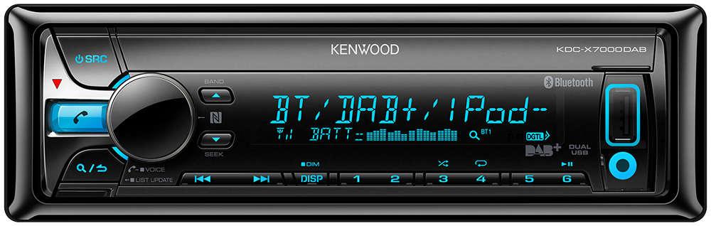 kenwood kdc x7000dab incl dab antenne kenwood. Black Bedroom Furniture Sets. Home Design Ideas