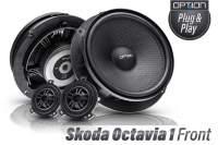 Skoda OCTAVIA 1Option Lautsprecher Front 1996 - 2004