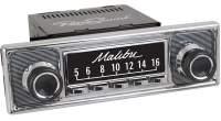 """RETROSOUND bedruckte Displayschutzfolie, GM """"Malibu"""" 3er Set - SCP13"""