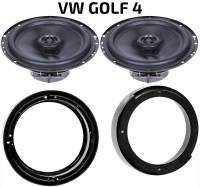 Lautsprecher Set VW Golf 4 Heck Türen