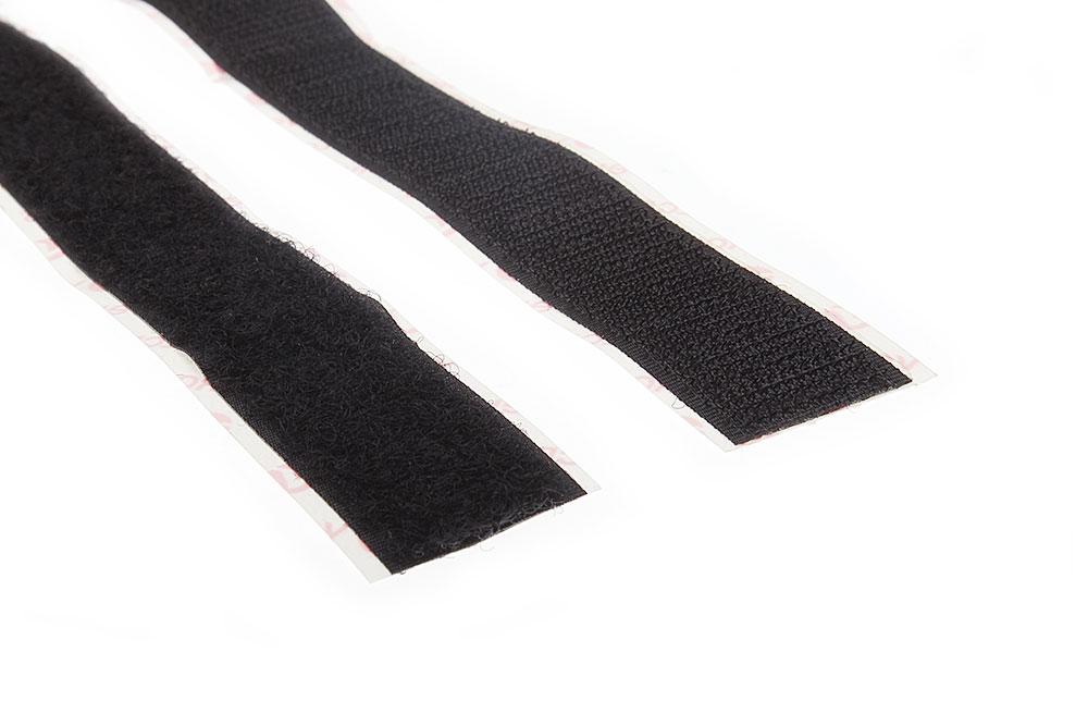 Klettband-Set 20mm breit 1m Stück