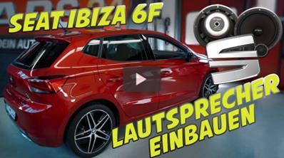 Anleitung für Seat Ibiza Lautsprecher