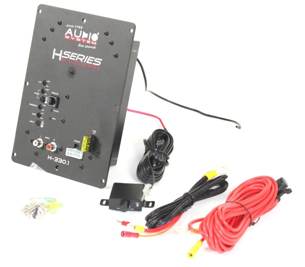 audio system h330 1 audiosystem verst rker. Black Bedroom Furniture Sets. Home Design Ideas
