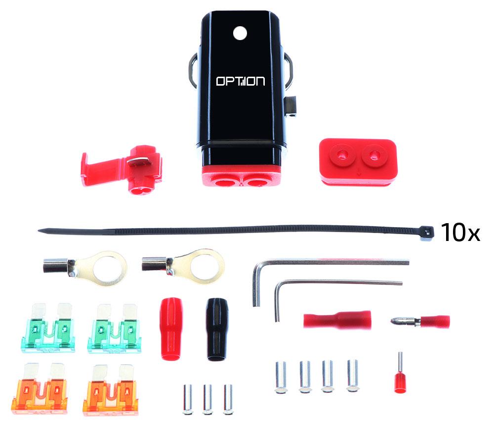 Option Sicherungshalter bis 10mm²