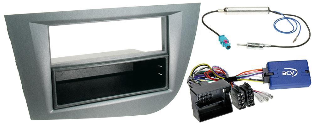 Autoradio-Einbauset für Seat Leon 1 P für 1-DIN-Autoradios