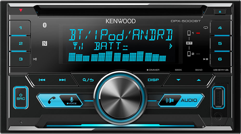Kenwood DPX5000BT