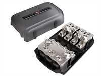 Sicherungshalter ANL Mini ANL 4 x Verteiler silber
