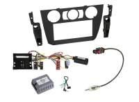 BMW 2-DIN Radio-Installationskit für 3er mit LFB und PDC (Manuelle Klima)