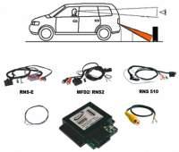 KUFATEC Rückfahrkamera Interface für VW RNS-315 / RNS-510