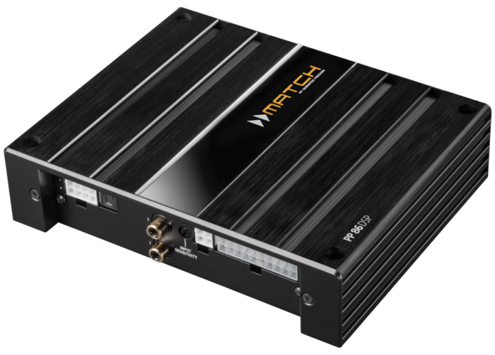 Match PP86 DSP 8-Kanal Plug & Play Verstärker