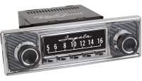 """RETROSOUND bedruckte Displayschutzfolie, GM """"Impala"""" 3er Set - SCP15"""