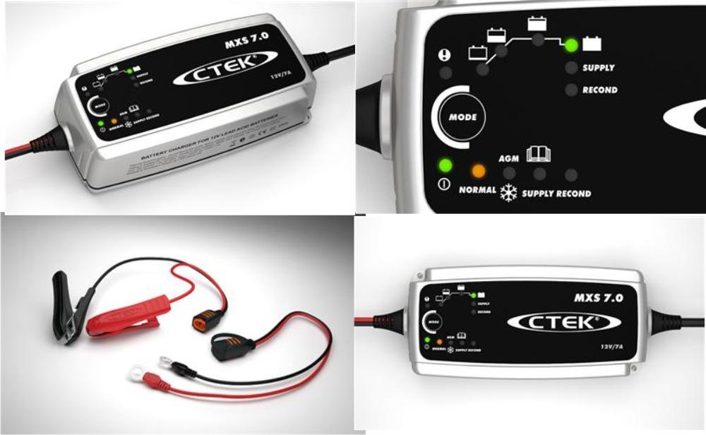 ctek batterie ladeger t mxs 7 0 12 volt 7 ampere. Black Bedroom Furniture Sets. Home Design Ideas