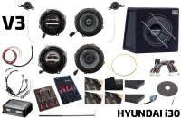 Hyundai i30 V3 Lautsprecher-Soundsystem mit Subwoofer