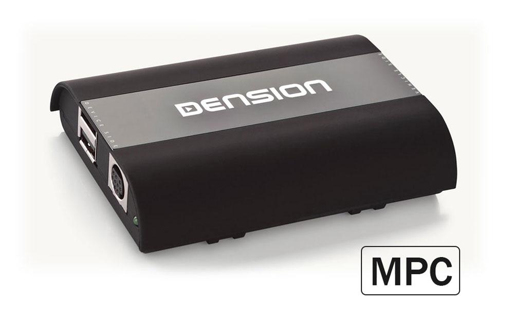 Dension DAB+U   MPC MK2   DAB+ am Werks-Autoradio per USB
