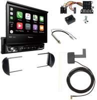 2-DIN Moniceiver mit DAB+, Apple CarPlay, Bluetooth - VW Beetle 9C mit LFB