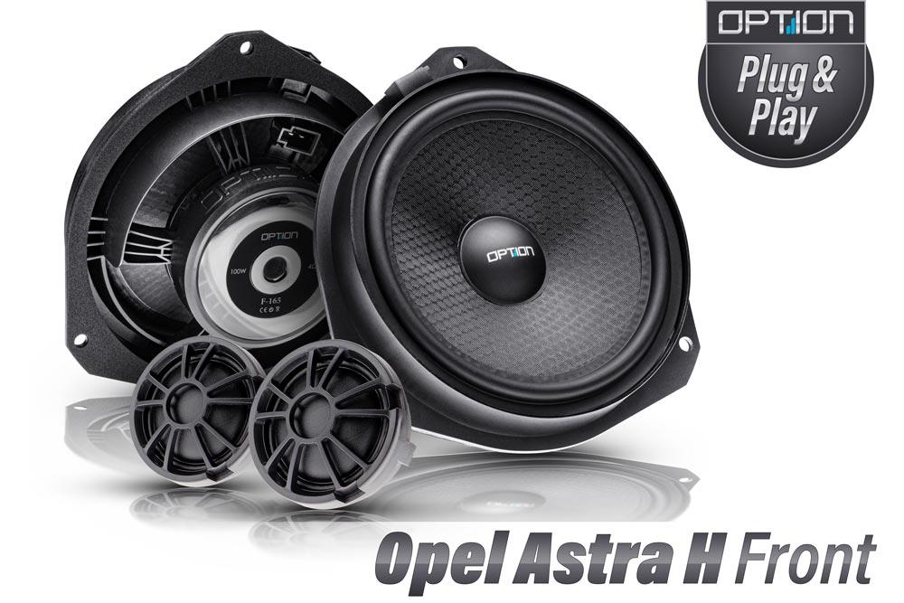 Opel Astra H Lautsprecher Set Plug & Play Frontlautsprecher