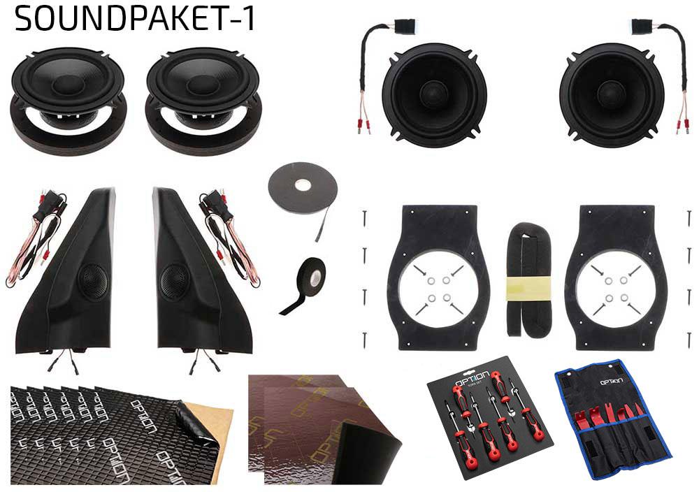 Suzuki Jimny GJ Option Soundpaket 1 | Front + Heck + Dämmung