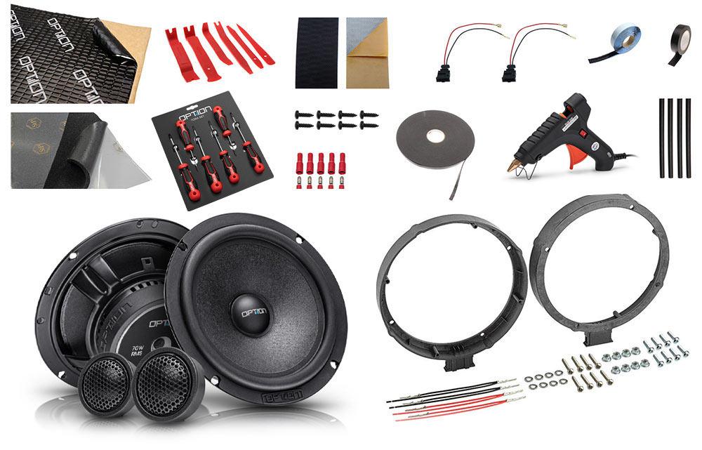 Option Seat Ibiza-6F Lautsprechersystem Front