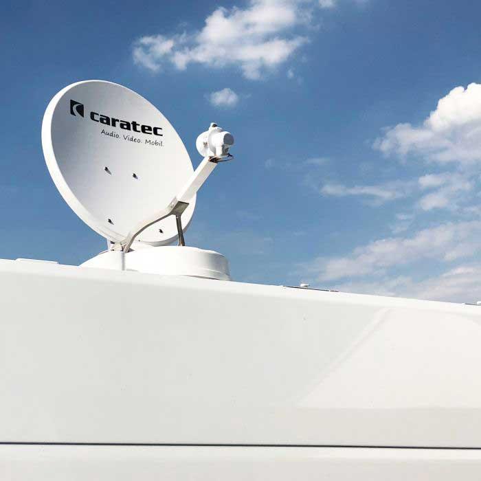 Caratec CASAT500S Smart-D Sat-Antenne 50cm