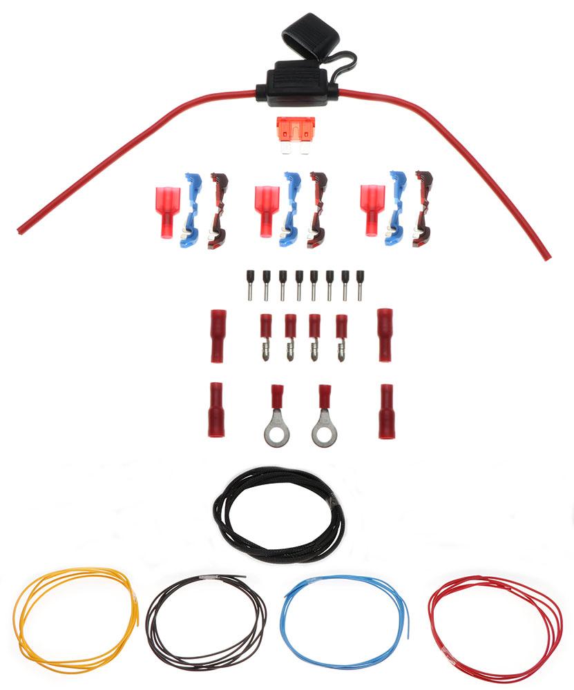 Interface Powerkit 15qmm mit Stromkabel Verbinder und Sicherung