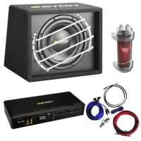 ARS24 komplettpaket Subwoofer + Endstufe + Kabelset + Kondensator im Set