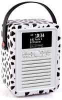 View Quest Retro Mini Radio mit Bluetooth, Black Lip