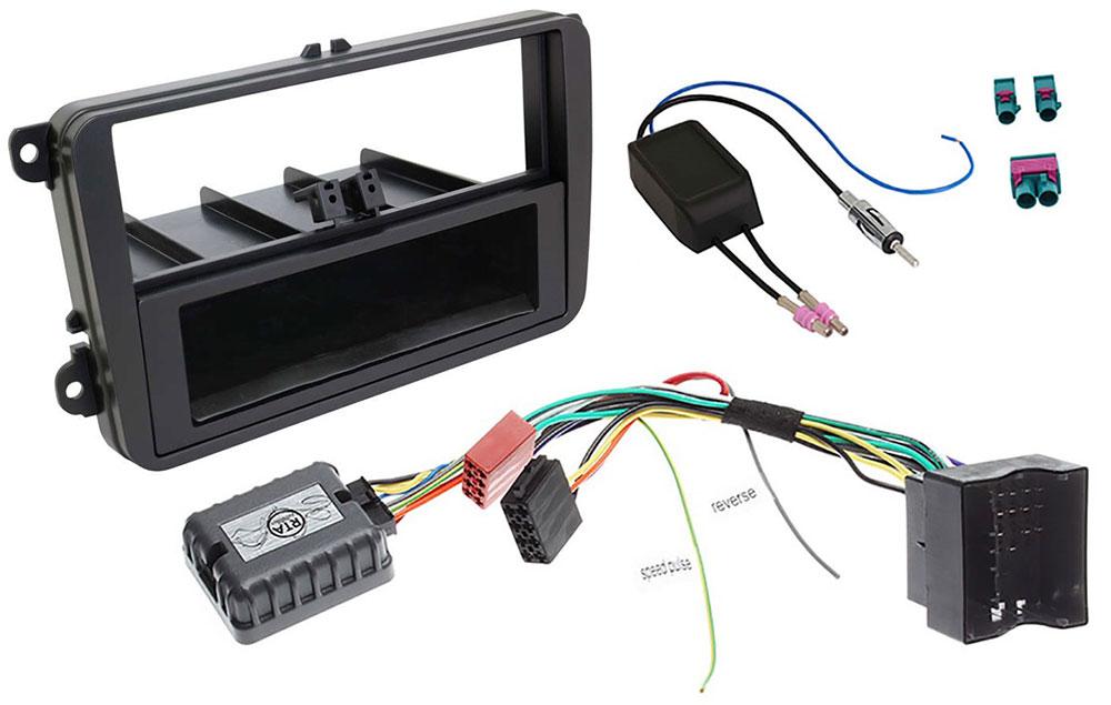 VW Golf-6 1-DIN Radio-Installationskit