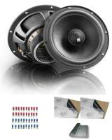 Car-HiFi Standard-Hecklautsprecher-Paket/ Dämmung/ Zubehör