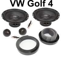 Lautsprecher Set VW Golf 4  Front Türen