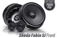 Skoda Fabia 5J Option Lautsprecher Front