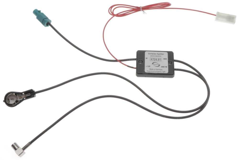 dab+ splitter für wohnmobil antenne | dab antennen | antennentechnik