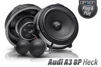 Audi A3 8P Option Lautsprecher Heck