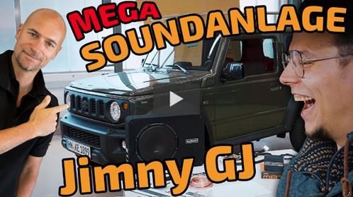 Suzuki Jimny GJ Rear-Speaker