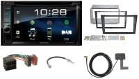 2-DIN DAB+ Autoradio mit Bluetooth für Opel Meriva A 2003-2006