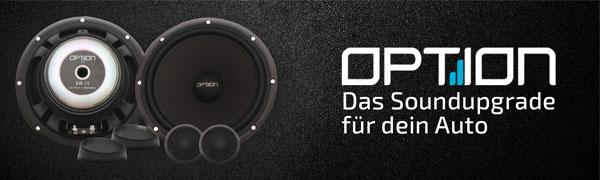 OPTION 165 Lautsprecher System - 2 Wege Komponenten Lautsprecher - 16cm Auto Lautsprecher | ARS24