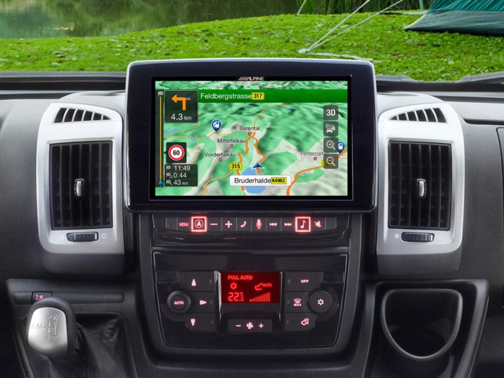 Alpine Style X902D-DU Fiat Ducato Navigation