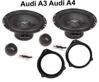 Lautsprecher Set Audi A3 A4