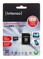 MicroSDHC Card INTENSO mit 32GB