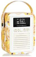View Quest Retro Mini Radio mit Bluetooth, Marmalade